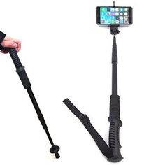 The ULTIMATE Selfie Stick is also a walking stick!  Take it along on bush walks, walkabouts, trail hikes, mountain climbing, strolls in the park, actually, anywhere with a view worth snapping a selfie.  Great for elderly but active seniors looking for a sturdy, reliable walking assistant that accommodates multi-functional operation. ONLY R350 Excluding VAT / Shipping Contact LASA Electronics to place your orders today. 011 089 8888 info@laptopaccessories.co.za
