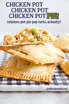 chicken pot pie pop