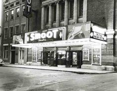 The Smoot Theater in Parkersburg, West Virginia 1948....still there today! http://www.smoottheatre.com/