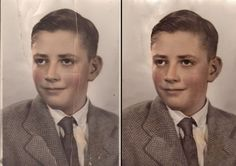 Photo Restoration 101...great article about saving damaged photos through a little technology