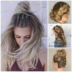 Looking for the best Braided hairstyles to wear You do not have to go far, as this article will explore some cool hairstyles that are perfect for spring and summer months. Pretty Hairstyles, Girl Hairstyles, Braided Hairstyles, One Step, Love Hair, Hair Dos, Prom Hair, New Hair, Hair Inspiration