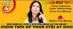TheSplitView - Your Email Ad will show 2 sites at once