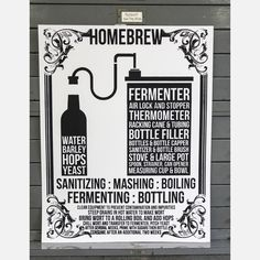 According to Kyle and Courtney Harmon, the Home Brew Print is the best beer-related poster they have ever created. This detailed screen print entails the brewery process with a simple instructional list, as well as the basic ingredients and necessary equipment. Perfect for your favorite beer lover or burgeoning microbrewer! Each pint is hand pulled using permanent and archival inks and pigments.