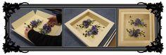 Box framing flowers