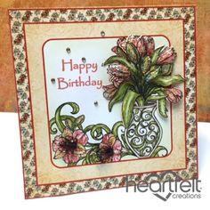Heartfelt Creations | Happy Birthday Lilies