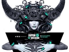 Nekro ~ El 30 de septiembre y el 1 de octubre estaré en la #japanweekend con stand. Prints, libros, tarots y figuras . #art #nekro #illustration