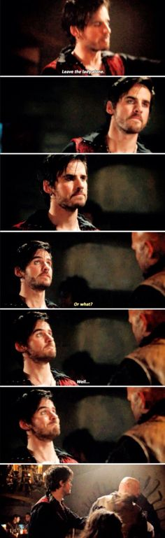 Captain Hook being the hero that he is