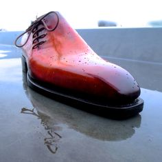 Side lace Bespoke Patina by Lacour