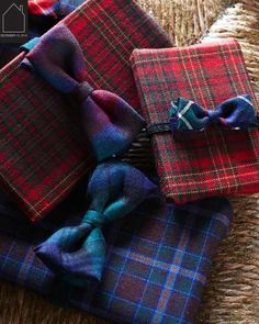 12.19.2014 - tartan gift wrap by sweet paul | THE PLACE HOME