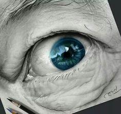 Mesmerizing Pencil Drawing Works by Ayman Fahmy Pencil Art, Pencil Drawings, Art Drawings, Charcoal Art, Graphite Drawings, Hyperrealism, Drawing Artist, Realism Art, Book Making