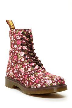 Dr. Martens Page Floral Combat Boot by Dr. Martens on @nordstrom_rack