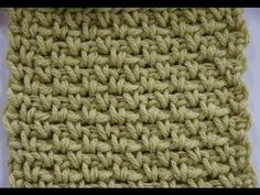 Learn more about the Granite Stitch aka Moss Stitch and see the crochet symbol chart at http://www.mooglyblog.com/granite-stitch-moss-stitch/