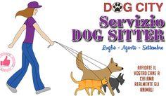 DOG CITY | Servizio Dog Sitter - Luglio, Agosto E Settembre http://affariok.blogspot.it/
