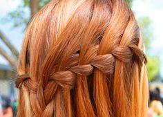 Hair: How to do a Waterfall braid hairstyle? | Fab Fashion Fix