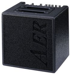 """AER Alpha Acoustic Guitar Amplifier (40 Watts, 1x8""""): Small doesn't always mean weak, and this compact acoustic amp proves that. Through 40 watts of power, this amp delivers the performance of a full-sized unit."""