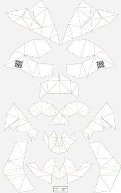 Unfold cardboard skull #skull #skullsforchange #folding_skull #paper_skull #DIY #opersource #sculpture #ritualhttps://drive.google.com/file/d/0B5l2LUn58xiERzhyT18xOEZCbU0/edit?usp=sharing