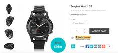 Interesante: ZeaPlus Watch S2, un smartwatch de metal a un precio de tan sólo 45 €