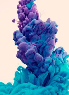 Colorettismo IV by Alberto Seveso Ink in Water
