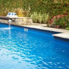 Remove calcium deposits from pool walls for sanitary and appearance purposes.
