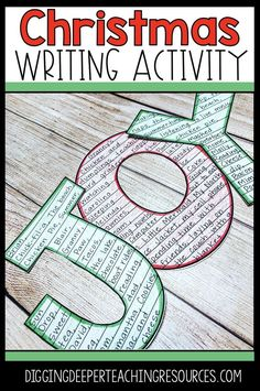 Holiday Writing Activity: What brings you joy? - Digging Deeper