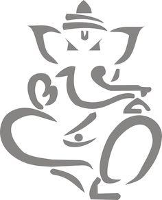 Clip Art: lord ganesha yoga ganesh black white ... - ClipArt Best - ClipArt Best