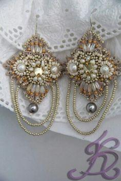 lovely beaded earrings.