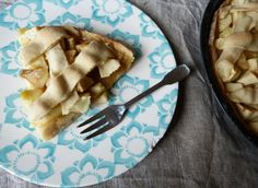 Tarte aux pommes et au sirop d'érable