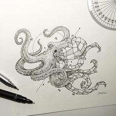 Geometric Beasts | Octopus