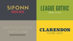 20 Best Fonts for Graphic Designers