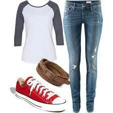 This is literally what i wear almost everyday! This is such a good and easy outfit!