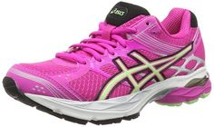 ASICS Gel-Pulse 7, Women's Running Shoes, Pink (Pink Glow/Pistachio/Onyx 3587) 3 UK