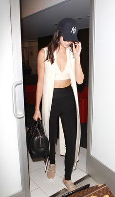 Kendall was seen at LAX on August 29th wearing... -