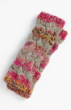 Laundry by Shelli Segal Cable Knit Arm Warmers | Nordstrom