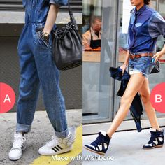 Which sneakers would you rather wear?  Click here to vote @ http://getwishboneapp.com/share/10381741