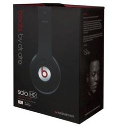 Selling Monster Beats by Dr. Dre Solo HD ....Auction starting at 140 ...MAX price $180. I paid 200 plus tax for these. NEVER USED. BRAND NEW comes with all the original items and packaging.