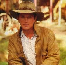 Tom Burlinson-'The Man From Snowy River' . I fell in love with this guy when the movie first came out--a Real man-tough and sentimental at the same time.too bad he's just a character in a movie. Great Films, Good Movies, Movies Showing, Movies And Tv Shows, Man From Snowy River, Horse Movies, Australian Actors, Country Men, Dirty Dancing