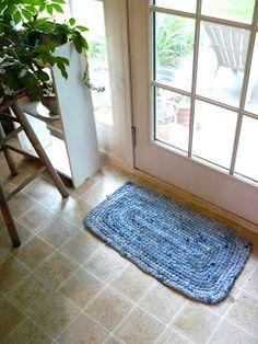 De Woven Home: Haak Projecten: Jean Rug