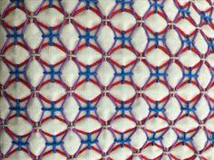 Hydrangea flower pattern. Made by Jan Guest