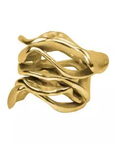 G3VTV Kim Seybert Gold Flux Napkin Ring