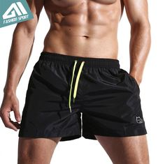 Quick Dry Men's Swim Shorts Athletic Running Gym Short #deepseafishing #Gonefishing #fishing #tackle #Fishinglife #FishingCQ #lure #reel #apparel #rod