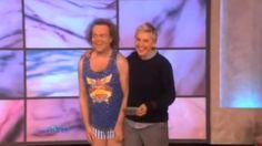 Richard Simmons | 'The Ellen Show' #RichardSimmons...: Richard Simmons | 'The Ellen Show' #RichardSimmons… #RichardSimmons