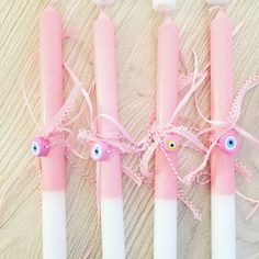 easter candles Easter Crafts, Easter Ideas, Greek Girl, Greek Easter, Christening Favors, About Easter, Easter Activities, Big Day, Event Planning