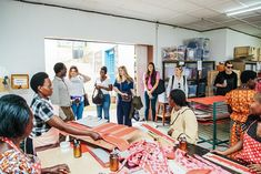 @mintarrow shares her visit to ADC, the factory where all of the kate spade new york #on_purpose goods are hand-made by local artisans.