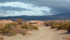 Casebre na ruta 40 entre Barrancas e Malargüe