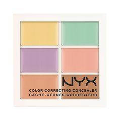 """Color Correcting Concealer"" von NYX, um 12 Euro"