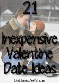 21 Inexpensive Valentine Date Ideas