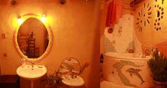 Výsledek obrázku pro hliněná omítka koupelna