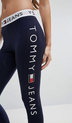 Image result for tommy hilfiger leggings yoga pants