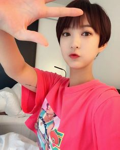 Seo Hye-lin (서혜린) of EXID ❤❤ I loved how beautiful she looked with that short hair!!