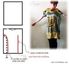 Lilibebek: Scarf Dress - DIY
